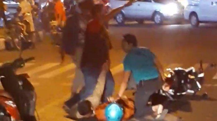 Beredar Video Viral Penangkapan 3 Begal Sadis di Pasuruan, Polisi Sampai Beri Tembakan Peringatan