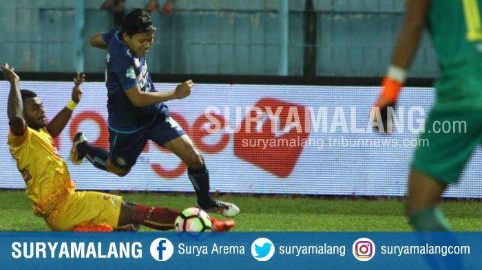 Babak Kedua Arema Vs Madura United - Gol, Slamet Nur Cahyo Ubah Skor Menjadi 0-2