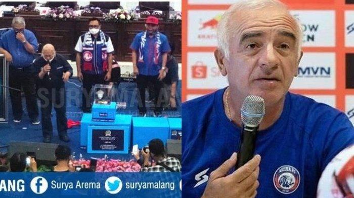 Berita Arema Hari Ini 12 Agustus 2020 Populer: Pengganti Mario Gomez dan Pesan PSSI di HUT Arema FC