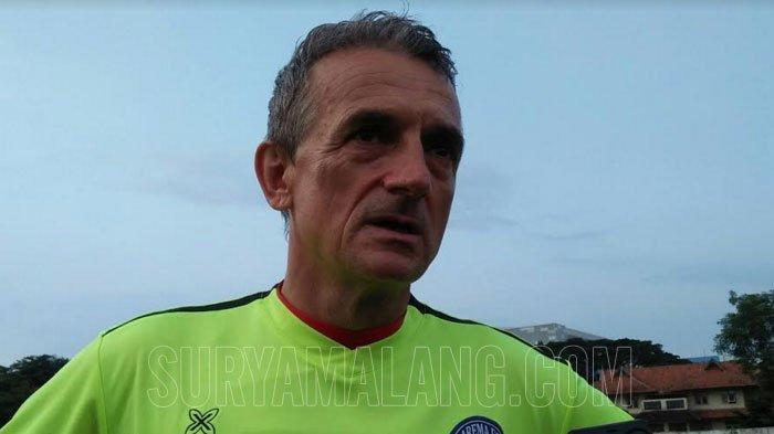 Nasib Arema FC Belum Pasti, Milomir Seslija: Piala Presiden Tanpa Arema FC Kurang Menarik