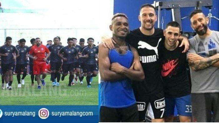 Berita Arema Hari Ini 5 Mei 2020 Populer, Latihan Arema FC Ditunda & 4 Pemain Tertahan di Malang