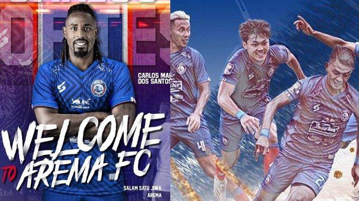 Berita Arema Populer Minggu 11 Juli: Carlos Fortes Resmi Jadi Pemain Singo Edan & Jadwal Liga 1