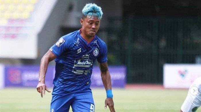 Cedera Otot Paha, Striker Arema FC, Kushedya Hari Yudo Harus Istirahat Sebulan