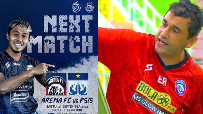 Berita Arema Populer Sabtu 25 September: Prediksi Pemain Arema FC Vs PSIS dan Nasib Eduardo Almeida