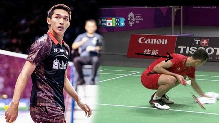 Inikah Alasan Jonatan Christie Ngepel Lantai? Jika ya, Pantes Ia Melakukannya di Asian Games 2018