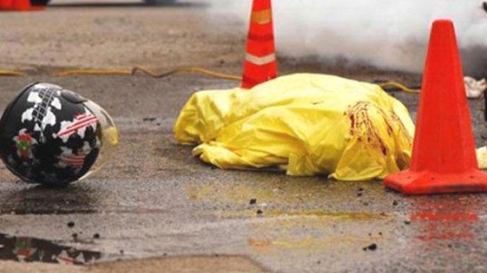 Kecelakaan Maut di Jalur Pantura Tuban, Pengendara Kawazaki Ninja Meninggal di Lokasi Kejadian