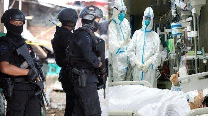Berita Malang 24 April 2020 Populer: Penggerebekan Terduga Teroris & Tambahan Pasien Positif Corona