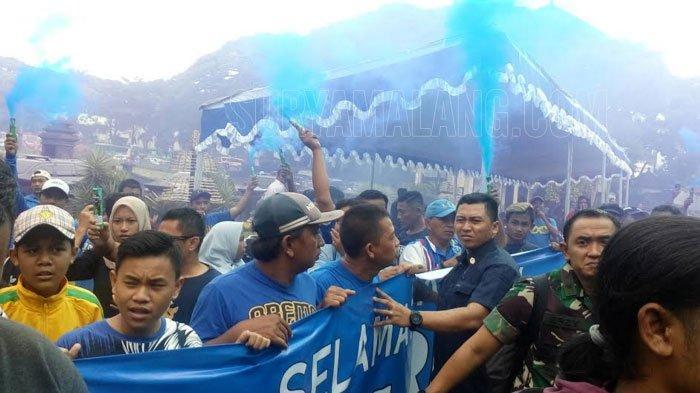 Eks CEO Arema, Iwan Budianto, dan  Wali Kota Malang Sambut Panglima TNI Marsekal Hadi Tjahjanto