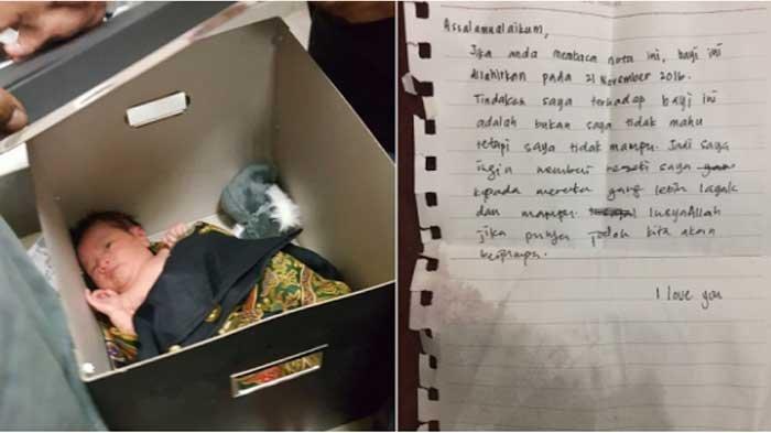 Bayi Ditemukan Di Masjid, Inilah Isi Surat dari Ibu yang Membuangnya