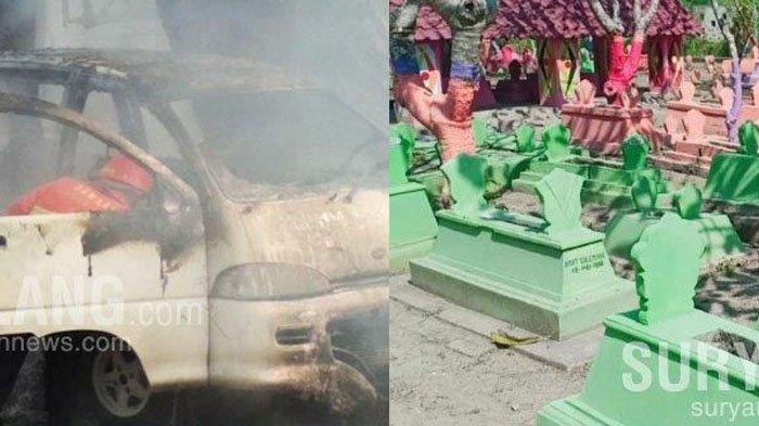 Berita Malang Hari Ini 14 Agustus 2020: Mobil Angkut Tabung Gas Terbakar & Makam Remaja Dibongkar