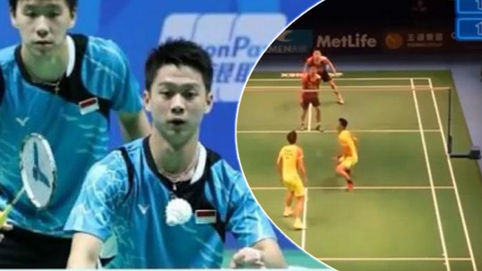 Live Streaming Kompas TV Final China Open 2017, Marcus Gideon dan Kevin Sanjaya Main Kedua