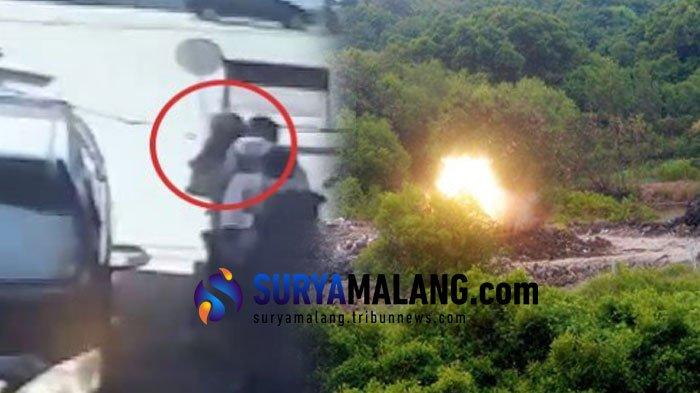 Dahsyatnya Ledakan Bom yang Polisi Temukan di Rumah Pelaku Bom Bunuh diri Polrestabes Surabaya