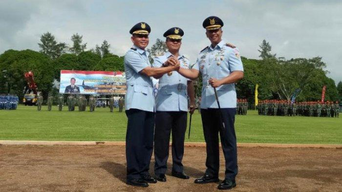 Kolonel Pnb Reza R.R. Sastranegara Resmi Jabat Komandan Wing 2 Abdulrachman Saleh