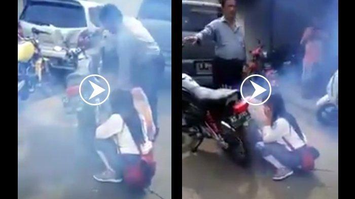 Lihat Cara Ekstrim Polisi Hukum Siswa yang Rayakan Kelulusan, Ending Videonya Bikin Ngakak