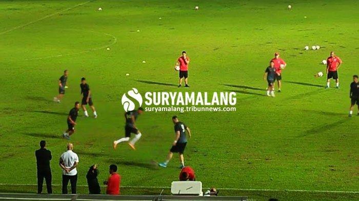 Hasil Skor Sementara Arema vs Persija Jakarta Piala Gubernur Jatim 2020 15 Februari 2020: 0-0
