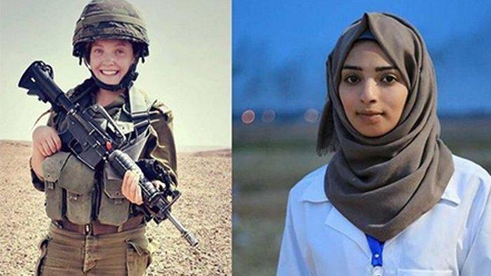 Fakta Baru Rebecca Tentara Wanita yang Disebut Menembak Razan, Dia Ternyata Seorang Guru SD