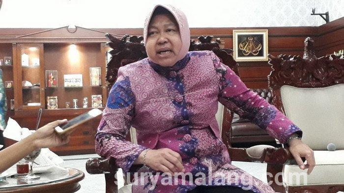 Wali Kota Surabaya Bu Risma 'Semprot' Cewek Pengedar Sabu-sabu Seberat 7 Kg dari Jaringan Malaysia