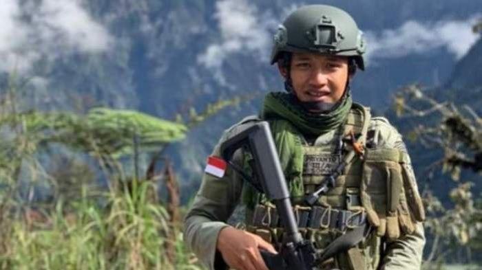 Doni Priyanto Anggota Brimob yang Wafat saat Baku Tembak dengan KKB Papua Dimakamkan di Trenggalek