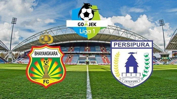 Hasil Skor Akhir Bhayangkara FC Vs Persipura Jayapura di Stadion PTIK Jakarta Adalah 2-0