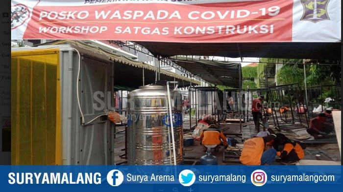 Pemkot Surabaya Nekat Tetap Produksi, Bagikan dan Gunakan Bilik Sterilisasi Corona, Begini Alasannya