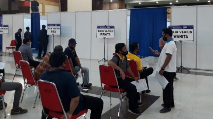 35 Panpel Grup B Piala Menpora 2021 Jalani Vaksinasi Covid-19