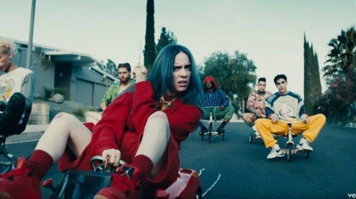 Lirik Lagu Bad Boy Billie Elish, Kini Masuk Dalam Daftar 100 Lagu Paling Top Billboard
