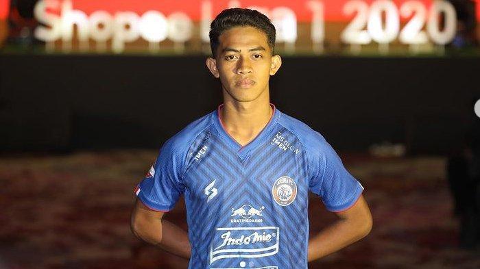 Biodata Aji Saka Bek Muda Arema FC yang Dipastikan Rehat Total dan Absen Panjang Jelang Liga 1 2021