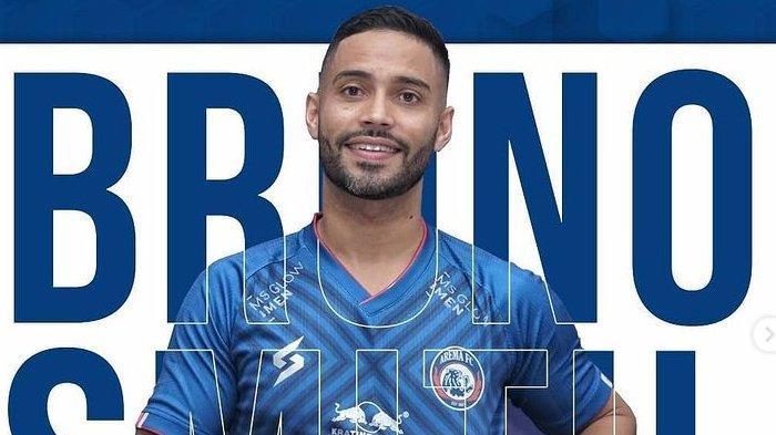 Bruno Smith Pemain Asing Arema FC di Piala Menpora 2021, Penampilan Perdana Belum Memuaskan
