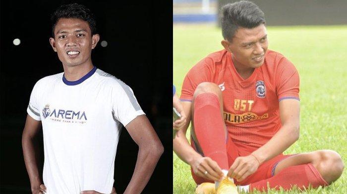 Biodata Dedik Setiawan Striker Arema di Piala Menpora 2021, Siap Jadi Teman Duet Kushedya Hari Yudo