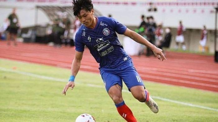 Feby Eka Putra, Pemain Arema FC yang berangkat menjalani TC Timnas U-23 Indonesia