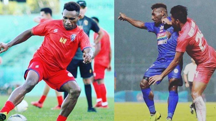 Biodata Mariando Uropmabin, Penyerang Arema FC Asal Papua Eks Pemain Timnas Indonesia & Sriwijaya FC