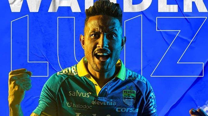 Biodata Wander Luiz, Striker Persib Bandung Jadi Pemain Liga 1 Pertama yang Positif Virus Corona