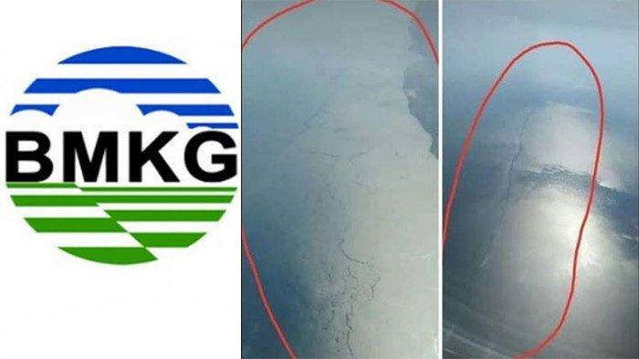 BMKG Bungkam Foto Viral Laut Retak yang Menyebut Jawa Akan Diguncang Gempa Besar, Faktanya Berbeda