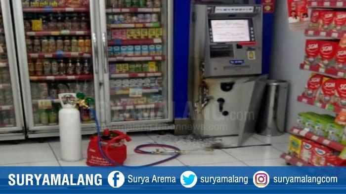 Pasangan Pembobol Minimarket dan Mesin ATM Pakai Las, Beraksi di 5 Tempat, Gresik dan Mojokerto Juga