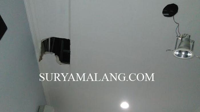 Kepergok Bobol Bengkel Las di Surabaya, Yoyok Sembunyi di Plafon Rumah Warga Selama 2 Jam