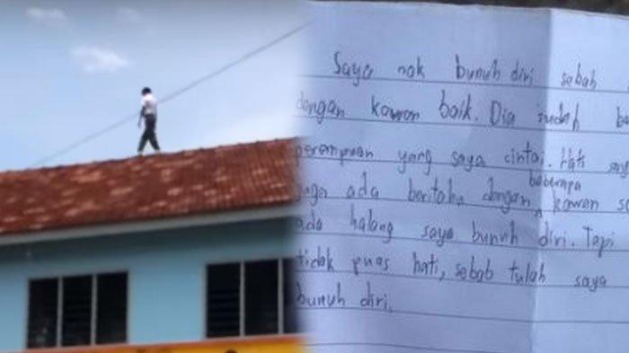 Video Viral Aksi Bunuh Diri Bocah 13 Tahun, Lompat dari Gedung Hingga Tulis Surat Wasiat
