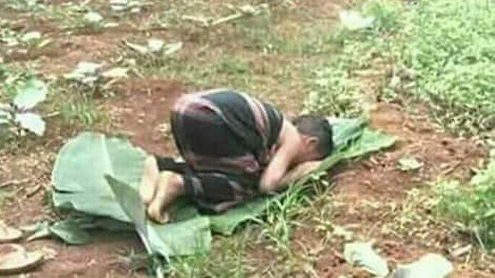 Lihat Gerakan Bocah di Kebun Ini! Banjir Pujian, Netizen : Saya yang Non-Muslim Aja Bangga
