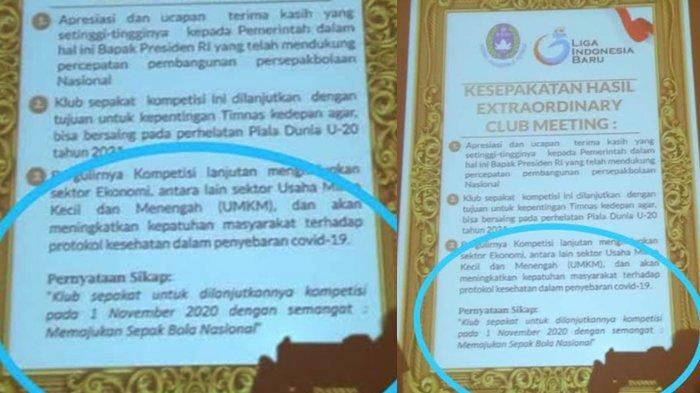Bocoran Hasil Manager Meeting PT LIB -PSSI dan Klub Tersebar, Konsep Kompetisi Berubah ?