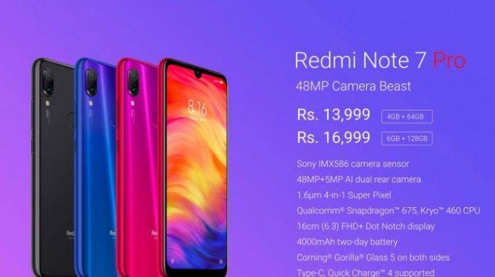 Bocoran Spesifikasi Xiaomi Redmi Note 7 Pro, Lebih Baik dan Cepat Dari Redmi Note 7 Biasa?