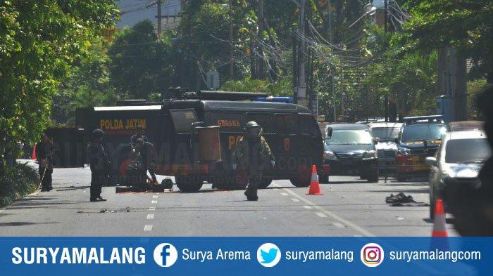 Bom di GKI Diponegoro Surabaya Meledak Saat Ibadah Berlangsung, Pengakuan Saksi Bikin Merinding