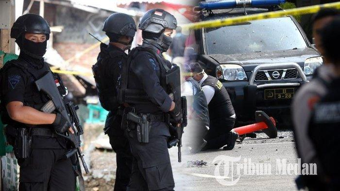 Kengerian Baku Tembak Densus 88 VS Teroris di Medan, 2 Tewas dan 1 Kabur, Akan Dikejar Sampai Aceh