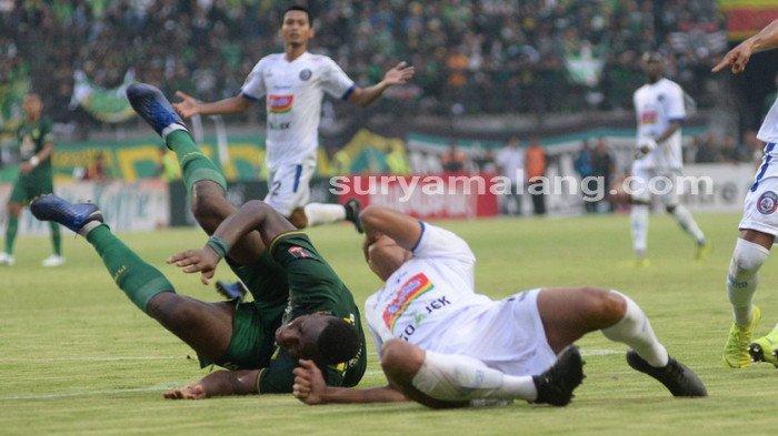 Arema FC Vs Persebaya - Hingga Menit 30, Skor Masih 0-0