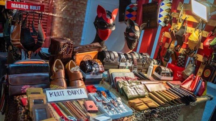 UMKM Fashion Mitra Bank Jatim Promosikan Produk Berbahan Kulit Lewat Virtual Expo Jatim Garage