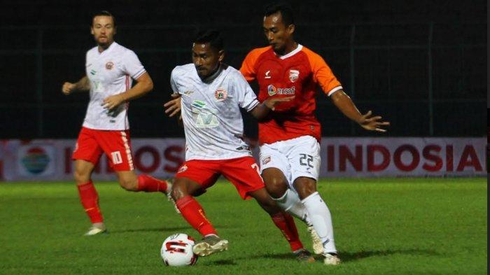 Gol Penalti Guy Junior Perkecil Ketertinggalan Borneo FC dari PSM Makassar, Skor Sementara 1-2