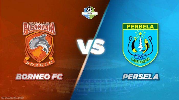 Hasil Skor Akhir Borneo FC Vs Persela Lamongan Adalah 3-2, Diwarnai 2 Kartu Merah dan Penalti