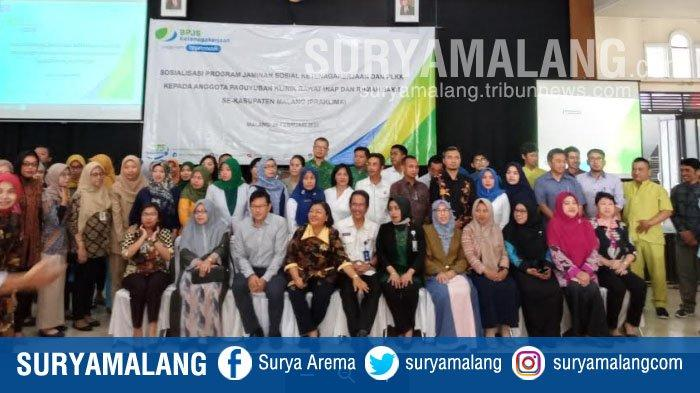 BPJS Ketenagakerjaan Ajak Klinik dan RS Se-Kabupaten Malang ikut Jaminan Sosial Kecelakaan Kerja