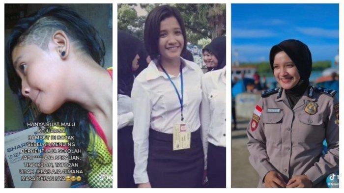 Briptu Tivany Agustin menginspirasi banyak orang, dirinya dulu diremehkan, kini sukses menjadi Polisi Wanita