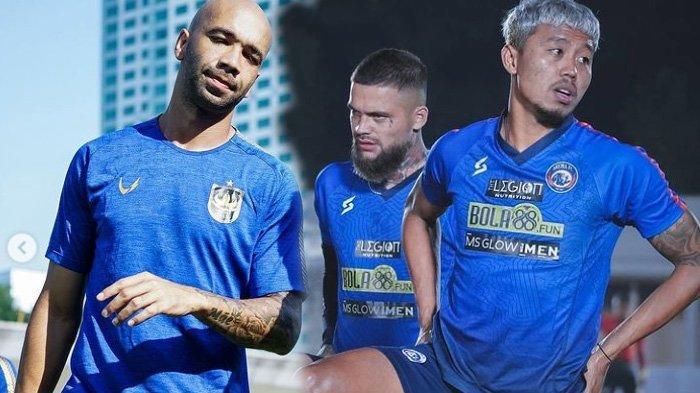 Dua Pujian untuk Arema FC dari Bruno Silva dan Satu Kepuasan Bikin Pemain Berlabel Timnas Frustasi