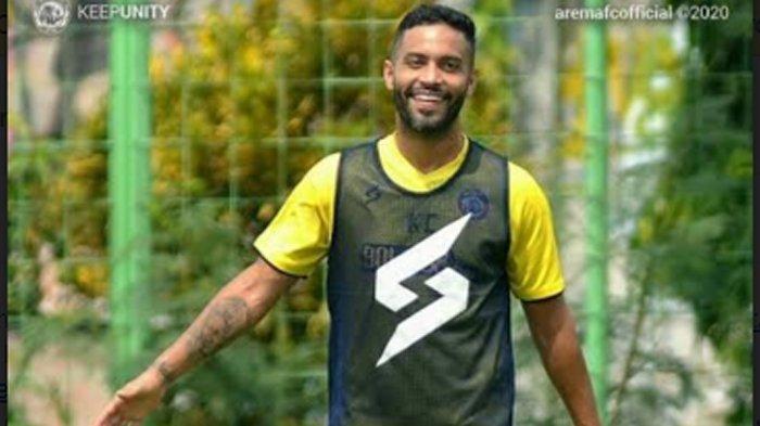 Pemain Asing Arema FC, Bruno Smith Pilih Akhirnya Pilih Kembali Pulang Ke Brasil