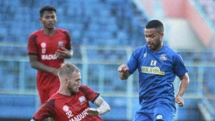 Komentar Asisten Pelatih Arema FC Soal Debut Perdana Bruno Smith dalam Uji Coba Lawan Madura United